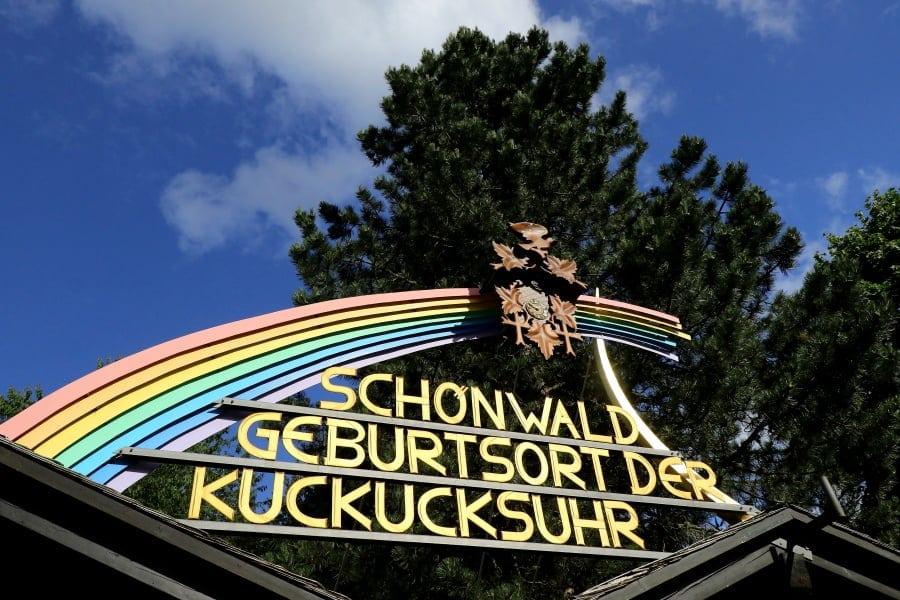 Geburtsort der Kuckucksuhr in Schönwald im Schwarzwald