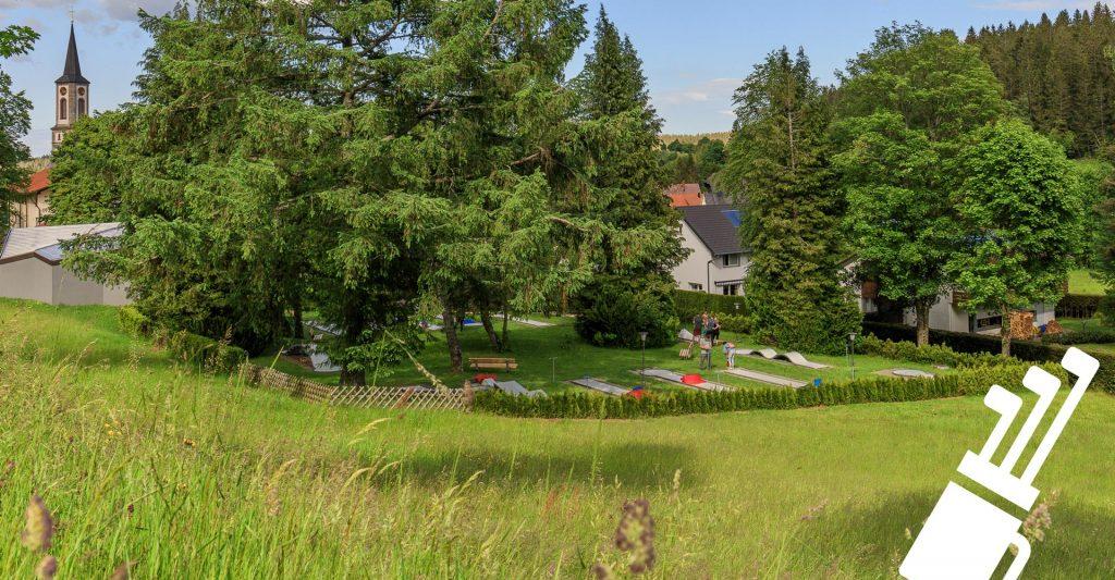 Minigolf-Anlage in Schönwald